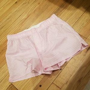 New pink Victoria's SECRET sleep boxer shorts
